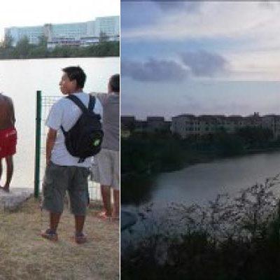 """""""¡SÁLVENME!, ¡ME ESTÁ JALANDO!"""": Dantescos últimos momentos de un joven atacado por un cocodrilo en la laguna Nichupté de Cancún"""