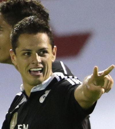 Con doblete del 'Chicharito', Real Madrid vence al Celta y se mantiene en la lucha por el campeonato de España