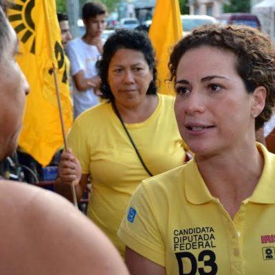 Impulsará la perredista Iris Mora derecho universal a internet y ampliar becas escolares