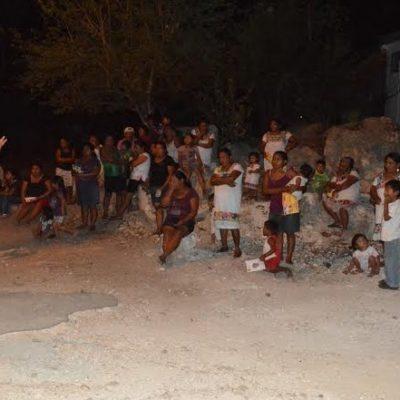 Se adentra Domingo Flota en los Chunes y ratifica que buscará más recursos para la Zona Maya