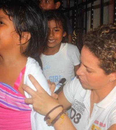 Dice Iris Mora que revisarán programas sociales porque no están cumpliendo objetivo de abatir la pobreza