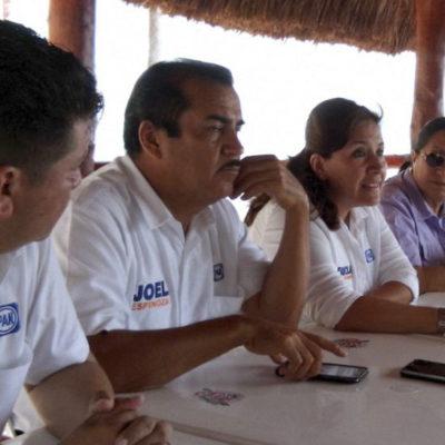 Se reúnen Fabiola y Joel con cooperativistas de Puerto Morelos y coinciden en la urgencia de reactivar su economía