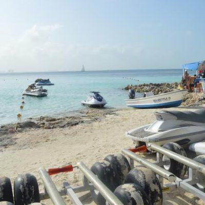 Cae turista de moto acuática en Cancún y muere ahogado