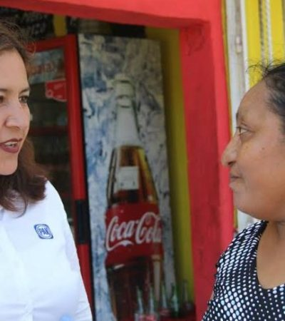 Nuevos empleos, aumento al salario y bajar los impuestos, las 3 propuestas de Fabiola Ballesteros en el D-01