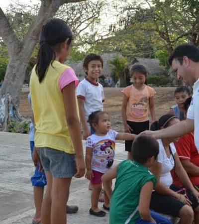 Invertiremos en más becas para niños y jóvenes de escasos recursos: Mahmud Chnaid