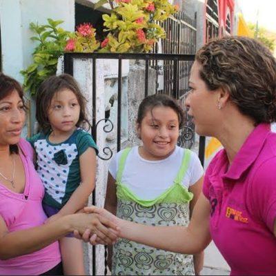 Ofrece Iris Mora impulsar políticas públicas de nutrición y combate a la obesidad infantil