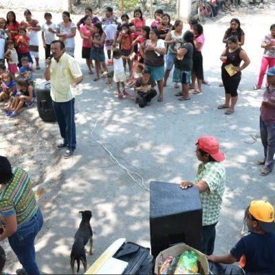 Domingo Flota, testigo del abandono de la Zona Maya, se compromete con la defensa del agua como un derecho