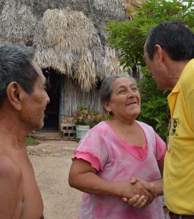 Domingo Flota busca gestionar mayores recursos para la educación y el campo