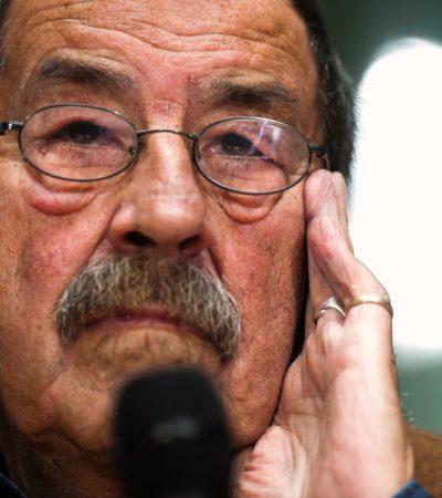 CALLA EL TAMBOR DE HOJALATA: A los 87 años, fallece el escritor alemán Günter Grass, Nobel en 1999