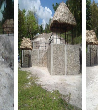 Clausura Profepa obras irregulares en predio colindante con la laguna de Bacalar