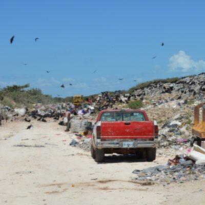 Urgen a destrabar pleito legal de comuna contra empresa porque el basurero de Chetumal está a punto de colapsar