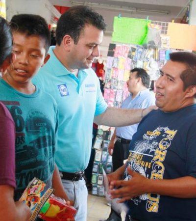 Propone Mahmud Chnaid un convenio entre productores de la Zona Maya y  empresarios hoteleros