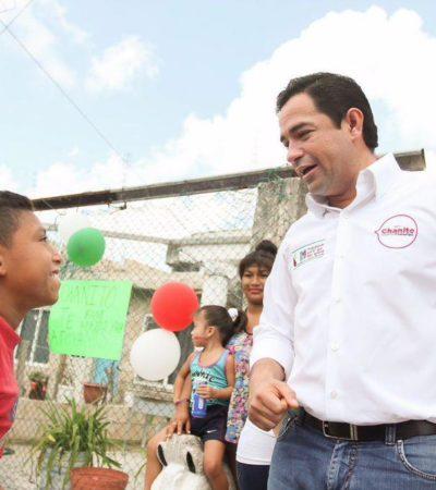 Promete 'Chanito' Toledo campaña propositiva al iniciar periodo de proselitismo en QR