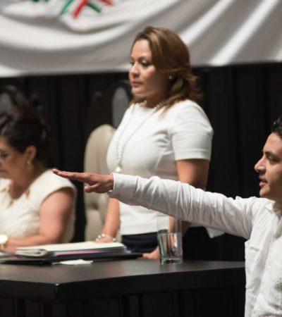 Por mayoriteo, impone el PRI en el Congreso al nuevo contralor del Ieqroo; en protesta, PRD y PAN votan en blanco
