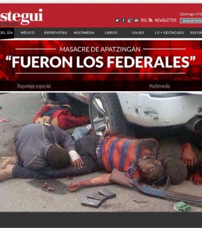 LANZAN ATAQUE CONTRA ARISTEGUI: Provocan 'obuses' cibernéticos caída del portal de la emblemática periodista