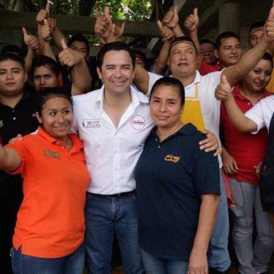 """¿DEBATES CON CANDIDATOS?: Por ahora, """"mi debate es con la gente"""", dice 'Chanito' Toledo"""