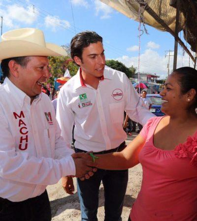 'FOCOS ROJOS' EN LA COALICIÓN PRI-PVEM: Impugna PAN suplencia de Mario Machuca en la fórmula que encabeza Remberto Estrada en el D-03; alista PRD denuncia ante Fepade por entrega de despensas en Cancún