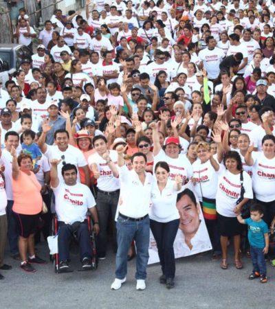 Llama Toledo Medina a trabajar 'en unidad' para garantizar triunfo el 7 de junio; 5 diputados lo siguen en campaña