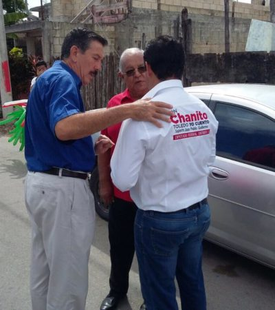 AFLORAN LOS VICIOS DE SIEMPRE: Cachan a funcionarios municipales y estatales en campañas del PRI en horas de trabajo