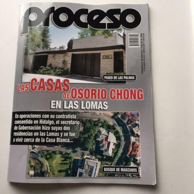 RESPONDE OSORIO CHONG A PROCESO: Niega titular de Segob poseer las casas que le atribuyen en Las Lomas