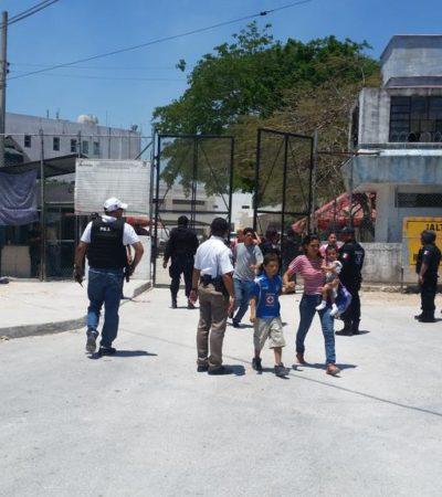 MOTÍN DOMINICAL EN CÁRCEL DE CANCÚN: Estalla revuelta durante partido de futbol; 11 reos hospitalizados y otras 37 personas con lesiones menores