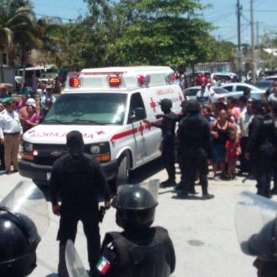 REPORTAN CALMA EN LA CÁRCEL: Están graves a 2 de los 11 reos heridos en el motín dominical del penal de Cancún