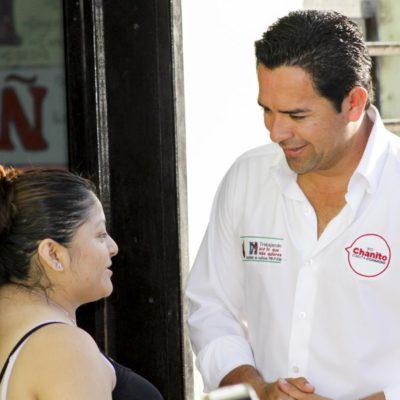Ofrece 'Chanito' Toledo llevar al Congreso proyecto para mejorar calidad de vida de mujeres