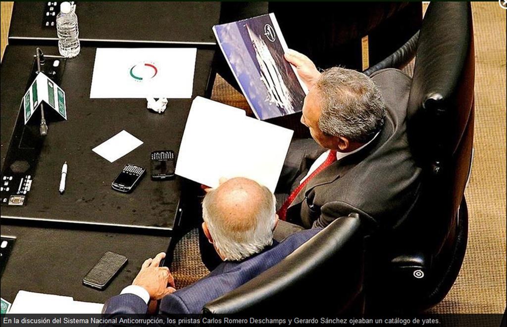 PROTEGEN A PEÑA HASTA CON SU ÚLTIMO VOTO: Aprueba Senado el nuevo Sistema Nacional Anticorrupción, pero sin tocar al Presidente