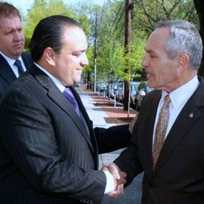 De viaje en Washington, Borge se reúne con funcionario de Obama y dice que trabajan para garantizar la seguridad de turistas en QR