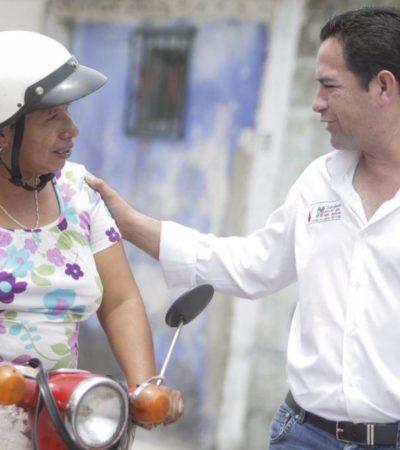 Continúa 'Chanito' Toledo recorridos por 6 municipios del Distrito 01 y ofrece apoyo a mujeres emprendedoras