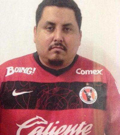 Por ataque incendiario a casa de citas en Cancún, cumplen primera orden de aprehensión contra David Mota, sucesor de 'El Talibancillo'
