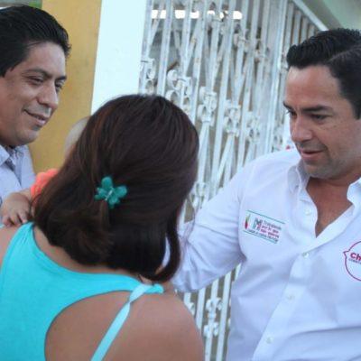 Dice el priista José Luis Toledo que sus propuestas son claras y que buscará mejorar calidad de vida en QR
