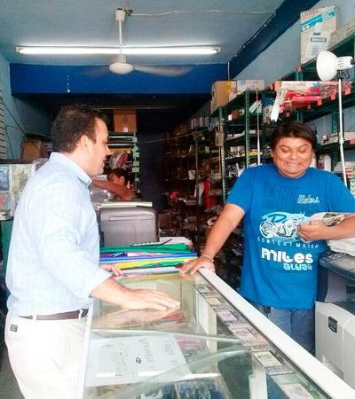 Ofrece Mahmud Chnaid legislar para mejorar la competitividad de los micro y pequeños empresarios