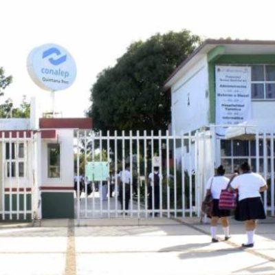 Anuncian paro de labores en escuelas de bachillerato en QR