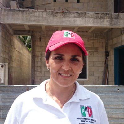 """¿LE SACA EL PRI?: Dice lideresa en Cancún que no solicitará al INE un debate porque """"están enfocados al trabajo de campo"""""""