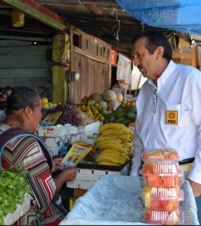 Sigue Domingo Flota recorridos por mercados y colonias de Chetumal