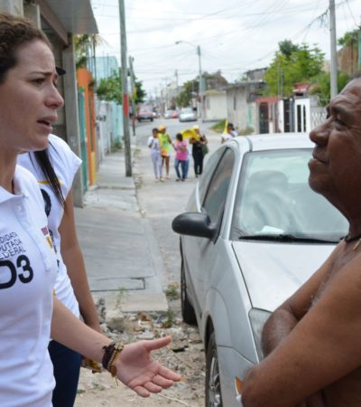Incorpora Iris Mora tema de la seguridad a su plataforma de campaña para el Distrito 03
