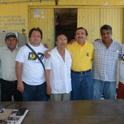 Reconoce Domingo Flota la lucha de Luis Ramón Villanueva en defensa de los límites territoriales