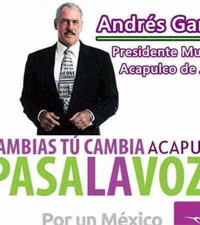 ¡LA FARANDULA AL PODER!: Y ahora hasta Andrés García se lanza a la política; quiere ser Alcalde de Acapulco