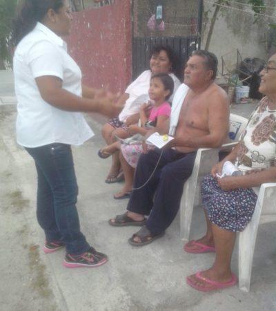 Piden cancunenses una seguridad pública efectiva, dice Norma Solano y propone una contraloría ciudadana en SP