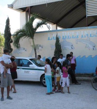 TRAGEDIA EN VIERNES SANTO: Se ahoga niño de 10 años en balneario 'Los Delfines' de la zona continental de Isla Mujeres