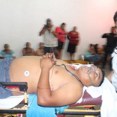 ¿JUSTICIA POR PROPIA MANO?: Hieren de un balazo a presunto sicario cuando extorsionaba a comerciante en la colonia Tres Reyes de Cancún
