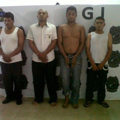 Por una ejecución del 2012, dan 28 años de prisión a sicarios de 'Los Pelones' en Cancún