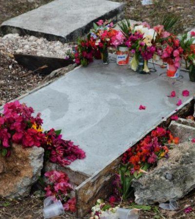 Sepultan a niño de 2 años que falleció en Bacalar por comer pollo contaminado