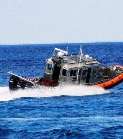 Aún no hallan a un joven extraviado en el mar cuando cruzaba de Playa a Cozumel en moto acuática