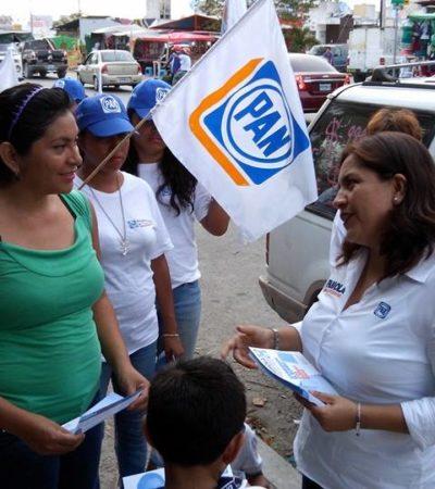 Para Fabiola Ballesteros, mejorar la economía familiar es la demanda más importante de la ciudadanía