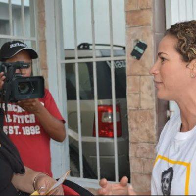 La gente tiene ánimo de ir por algo que trascienda, plantea Iris Mora en el arranque de su campaña por el Distrito 03
