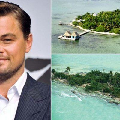 Planea Leonardo DiCaprio construir exclusivo complejo turístico en una isla desierta de Belice