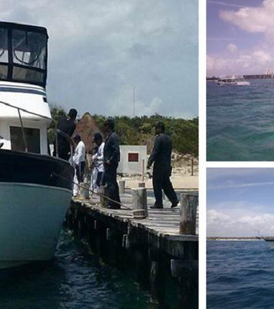 IMPONDRÁN SANCIÓN POR ENCALLAMIENTO: Liberan navío que pegó en arrecife de Punta Nizuc; dañó 191 m2 de corales