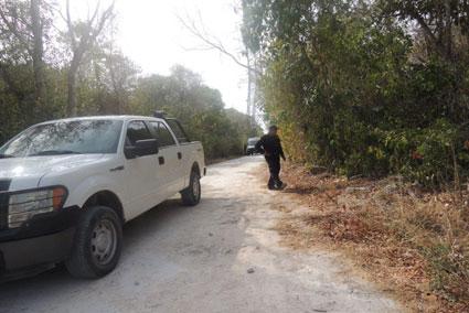 Confirman asesinato a golpes de un hombre hallado en las inmediaciones de Puerto Morelos